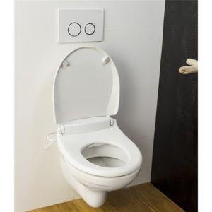 saniclean abattant de toilette japonais wc lavant et chauffant commande electrique siege. Black Bedroom Furniture Sets. Home Design Ideas