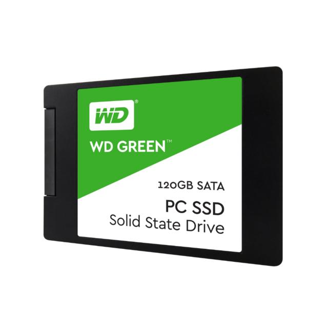 WESTERN DIGITAL Disque Dur Green 2,5 Pouces SSD, SATA 6G - 120 GB