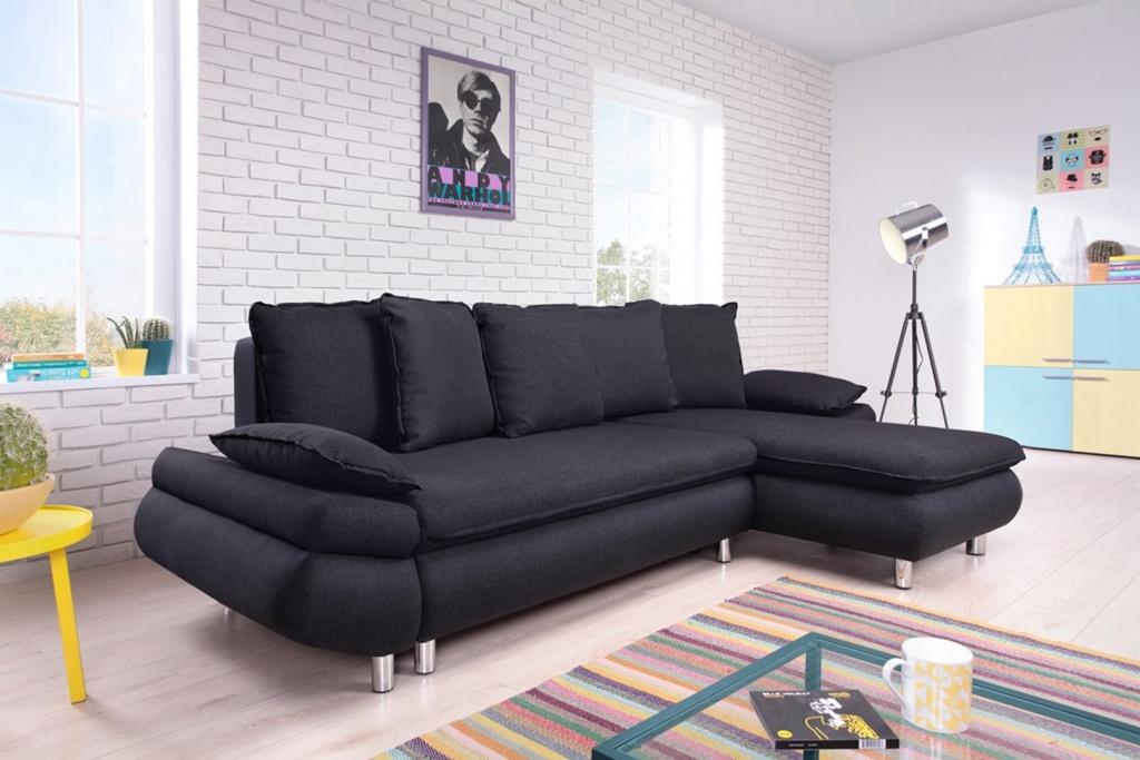 Canapé dangle convertible tissu 4 places NESTOR _ BOBOCHIC_ plusieurs coloris