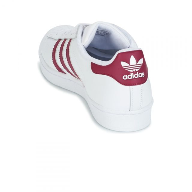 Adidas originals Chaussures Superstar BlancBordeaux W