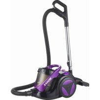 Klaiser - Aspirateur Sans Sac Confort Xl Ultra Puissant 2400W - Equipé d'une poignée ergonomique-Mauve