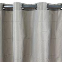 MonbeauRideau - Rideau William 150x250cm, Taupe • Taffetas polyester