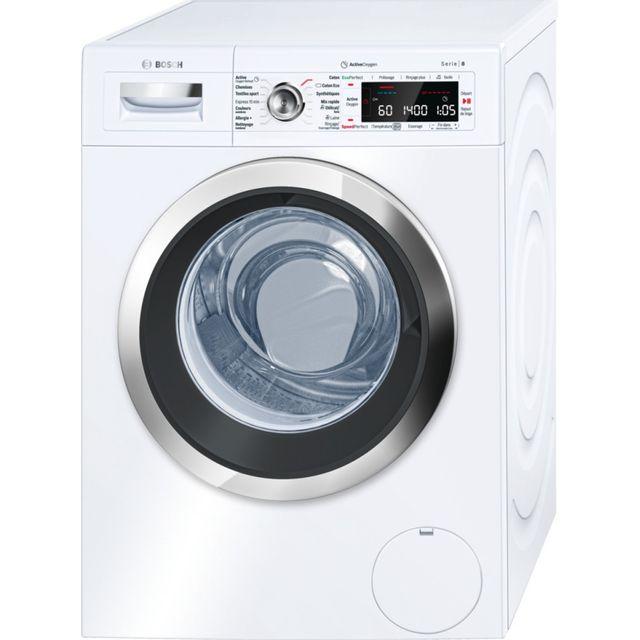 Bosch lave-linge frontal 60cm 9kg a+++ blanc - waw28750ff