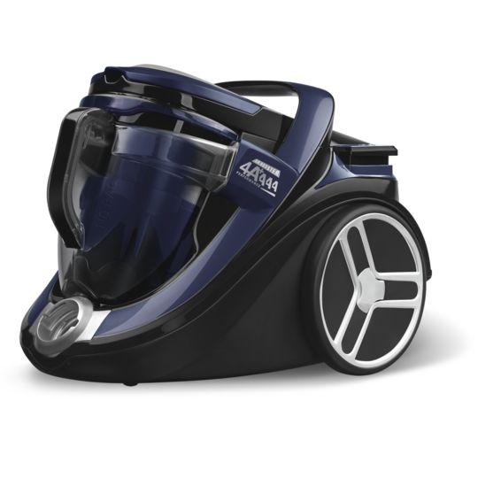 Aspirateur sans sac CAR PRO RO7631EA Bleu à Prix Carrefour