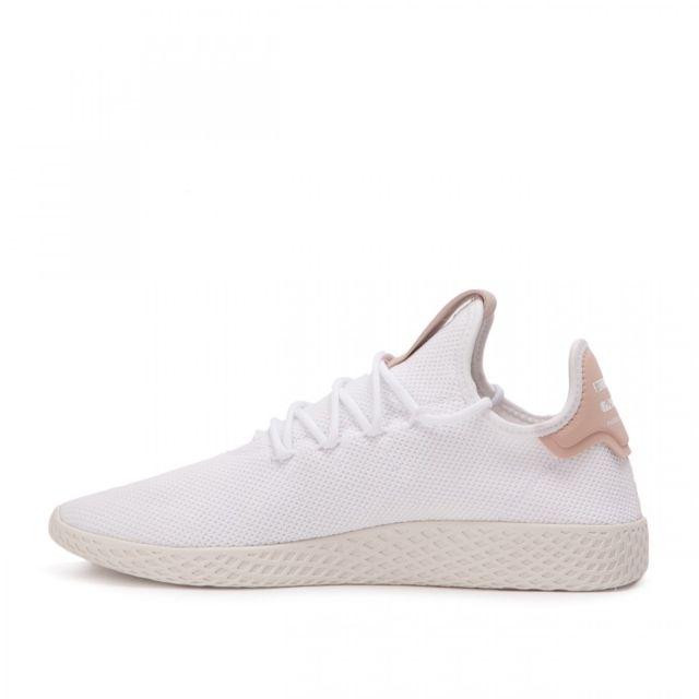 d273b03e2 Adidas originals - Basket Pharrell Williams Tennis Hu - Ref. Cq2169 Blanc -  pas cher Achat   Vente Baskets femme - RueDuCommerce