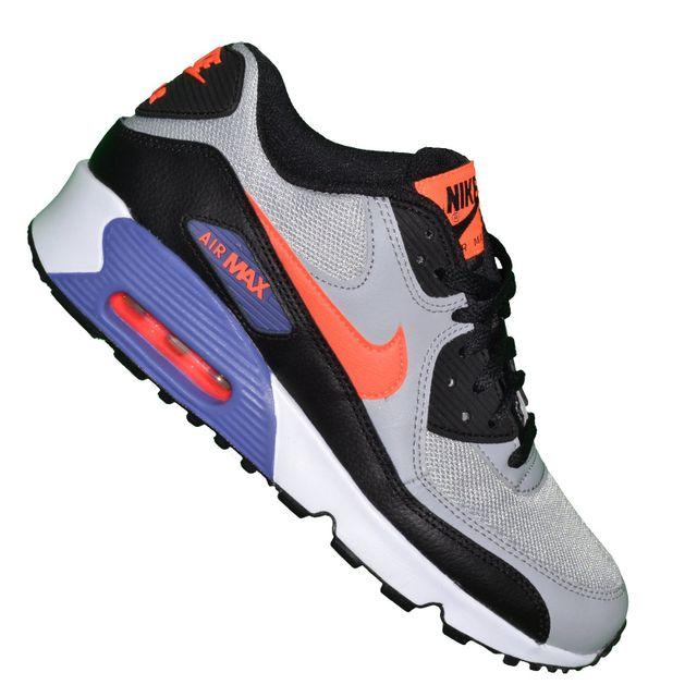 à bas prix 02dcf 019e4 Nike - Basket - Femme - Air Max 90 Mesh 255 - Gris Violet ...