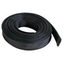 Mounting Materials - Gaine Pour CÂBLE - Flexible - 20 mm x 5 m - Noir