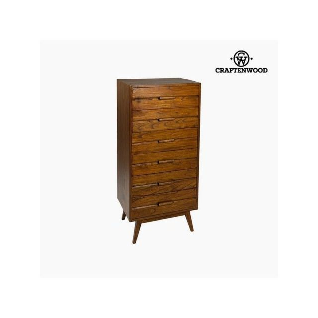 Craften Wood Chiffonnier Bois mindi 118 x 55 x 40 cm Collection Serious Line by Craftenwood
