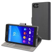 Made For Xperia - Mfx Etui Slim S Folio Gris Argent Pour Sony Xperia Z5 Compact