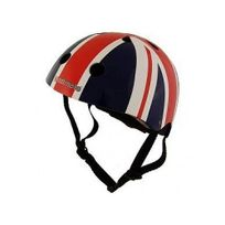 Kiddimoto - Casque Vélo et Trottinette Union Jack Medium