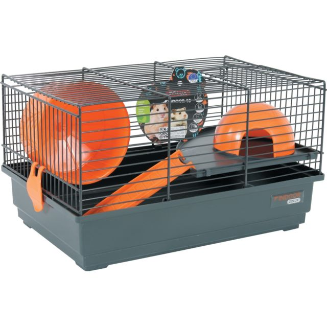 Zolux Cage Indoor 40 Hamster Orange