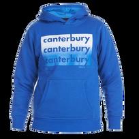 Canterbury - Sweat Jr Ccc Repeat Logo - taille : 8 Ans - couleur : Marine/Bleu/ Yellow