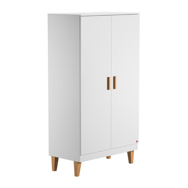 Vox Armoire 2 portes Lounge - Blanc
