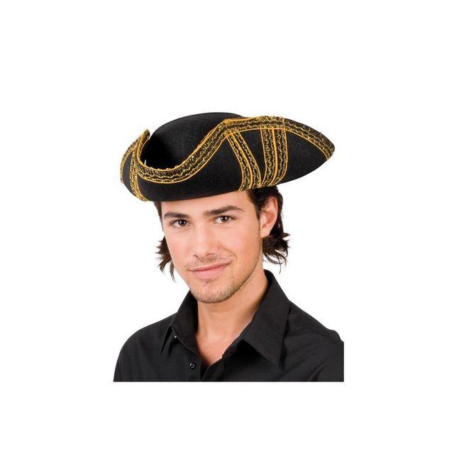 fdbc7182ead93 Boland - Chapeau de Pirate Royal Or - pas cher Achat / Vente Articles de  fête - RueDuCommerce