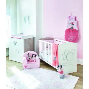 Disney baby lit en bois 60x120 cm commode b b d cor - Destockage chambre bebe ...