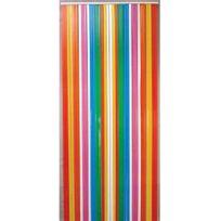 Morel - Rideau de porte Lanière Antilles 90x200cm Multicolore