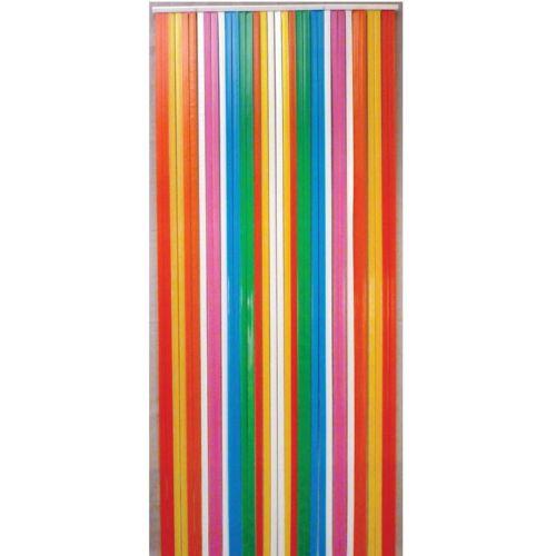 Morel rideau de porte lani re antilles 100x220cm - Rideau de porte exterieur plastique ...
