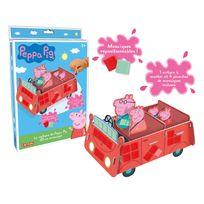 Lansay - La voiture de Peppa Pig en mosaïques