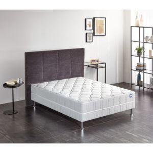 soldes bultex ensemble nano silvery 120x190 blanc pas cher achat vente ensembles de. Black Bedroom Furniture Sets. Home Design Ideas