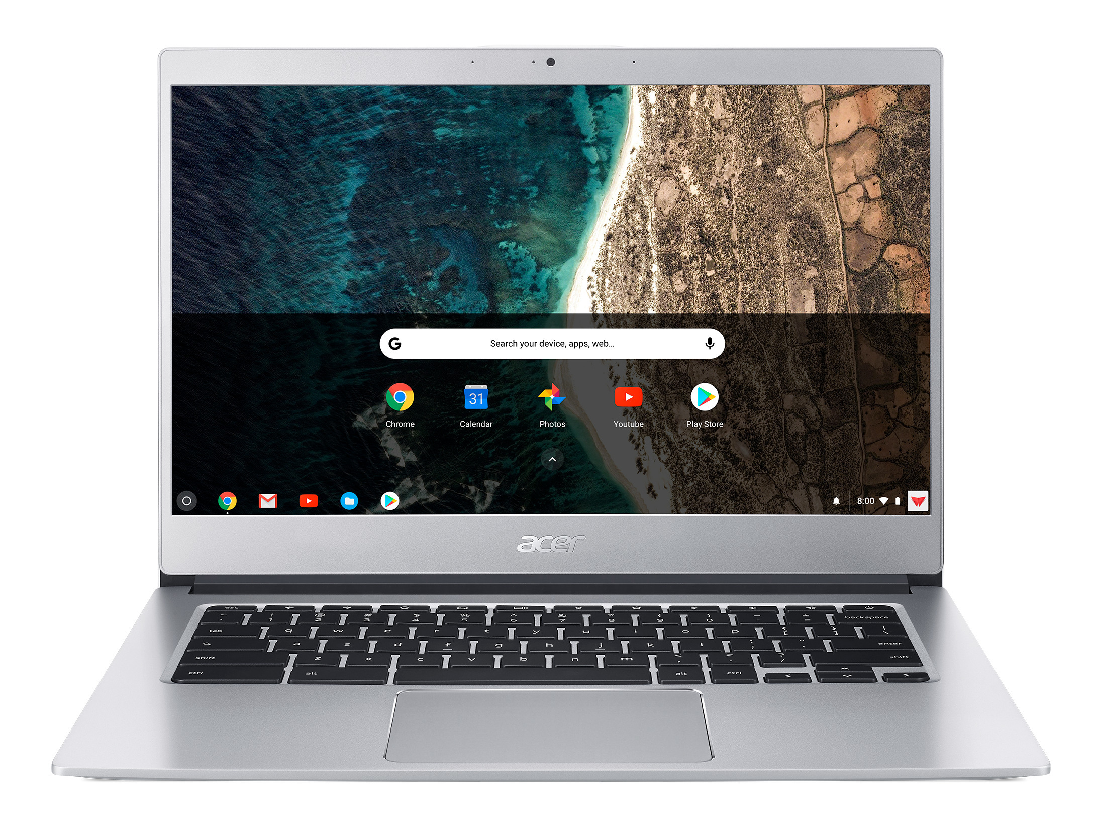 ACER - Chromebook CB514-1H-P76S - Pure Silver