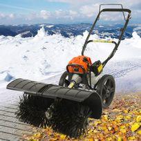 Viron - Fraise à neige déneigeuse balayeuse thermique 52cc