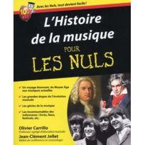 First Interactive - Librairie, Papeterie, Dvd. Histoire De La Musique Pour Les Nuls Historique