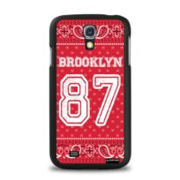 Evetane - Coque Brooklyn bandana pour Samsung Galaxy S4 I9500