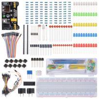 CâbleCondensateurLedPotentiomètre De Pi Pour Électronique Arduino Avec D'apprentissage Résistance Composant Raspberry Plafonnier Kit kZOuPXi