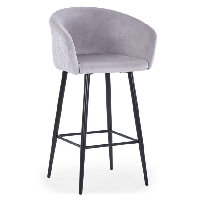 Paris Prix Tabouret de Bar en Velours \