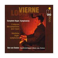 Mdg - Louis Vierne: intégrale des symphonies pour orgue