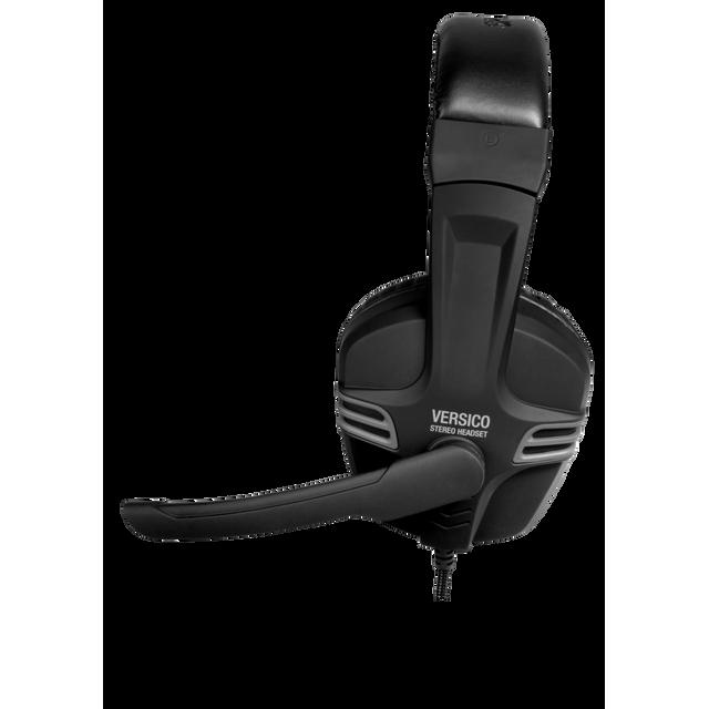 TteSPORTS By Thermaltake VERSICO le combiné casque-micro pour PC VERSICO Stereo Headset. Profitez du volume sonore et de la virtuosité d'un casque pleine taille