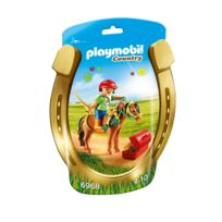 PLAYMOBIL - COUNTRY - Poney à décorer 'Fleur