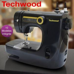 Machine coudre 10 points techwood pas cher achat for Machine a coudre carrefour
