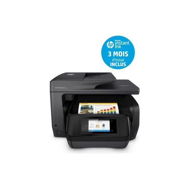 Hp Imprimante jet d'encre Office Jet Pro 8725 ePrint : ePrint Format d'impression : Jusqu'à A4 Imprimante : Multifonction Jet d'encre Niveau sonore en impression : 60 dB...
