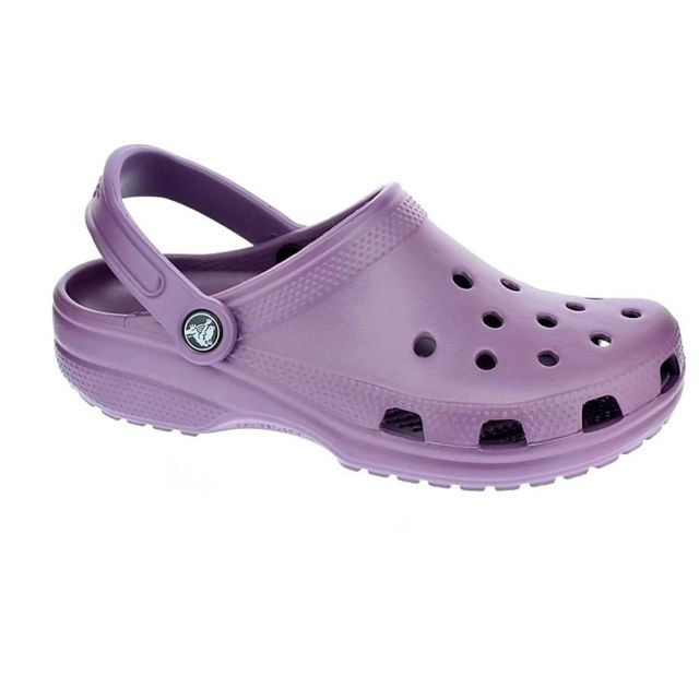 b7d45186717 Crocs - Chaussures Crocs Femme Sabot modele Classic Lilac. Couleur   Violet