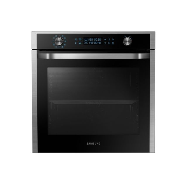 Samsung Four encastrable pyrolise Multi Twin Convection - NV75J7570RS - Inox