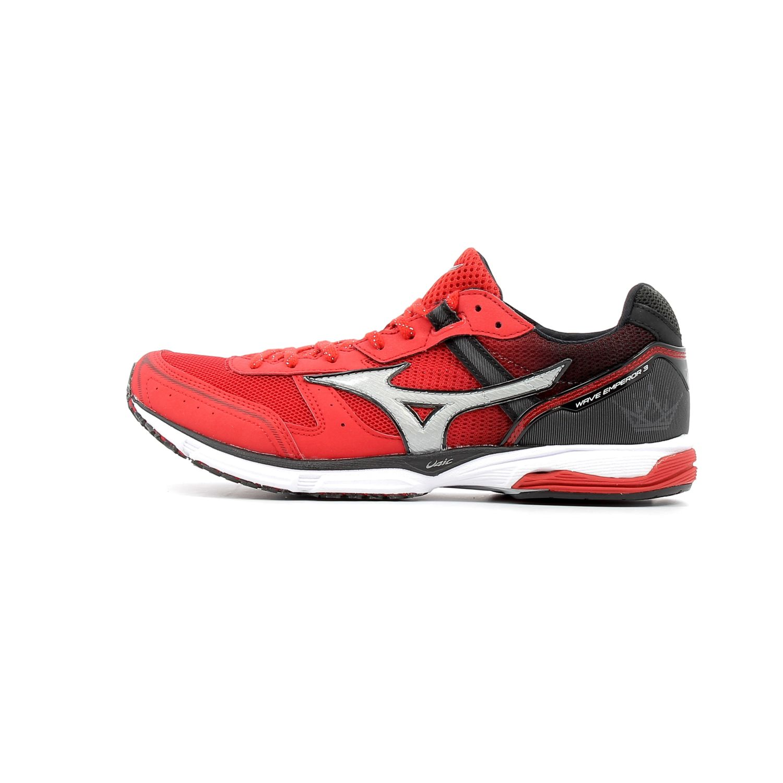 Mizuno - Chaussures de running Wave Emperor 3 Rouge - pas cher Achat / Vente Chaussures running