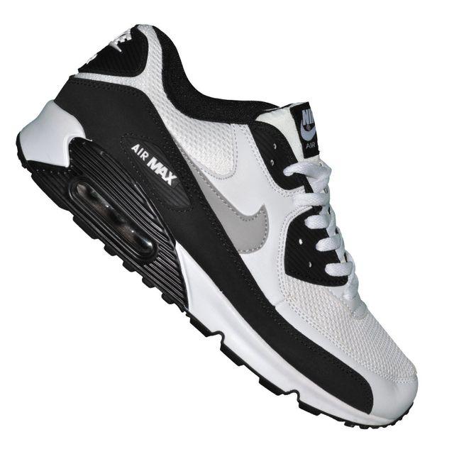 537384 129 Homme Nike Air Max 90 Essential BlancNoir