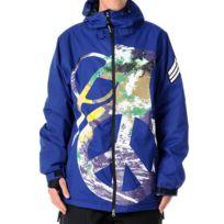 Grenade - Veste Ski Snow jacket Peace Bomb Blue