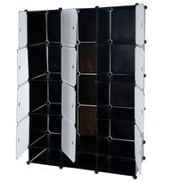 systeme de rangement vetement achat systeme de rangement. Black Bedroom Furniture Sets. Home Design Ideas