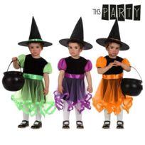 5c4c074114f2f Totalcadeau - Costume de petite sorcière pour bébé - déguisement panoplie  Taille - 12-24