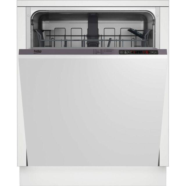 Beko Lave-vaisselle Tout Integre 60cm Pdin 25310