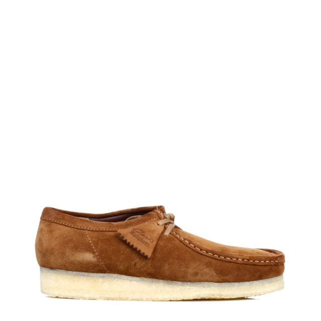 607a7d79c2c3 Clarks - Originals Mens Cola Wallabee Suede Shoes-UK 9 - pas cher Achat   Vente  Chaussures de ville homme - RueDuCommerce