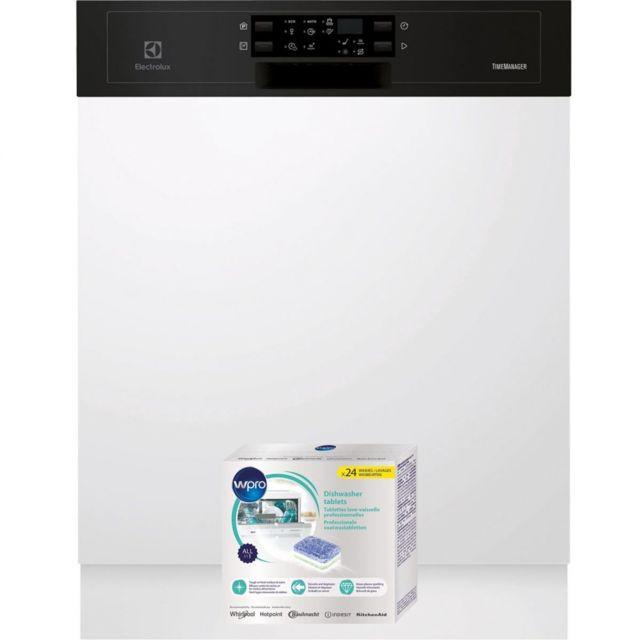 electrolux lave vaisselle integrable encastrable bandeau. Black Bedroom Furniture Sets. Home Design Ideas