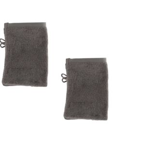 tex home lot de 4 gants taupe 15x21cm eponge bath pas cher achat vente gants de toilette. Black Bedroom Furniture Sets. Home Design Ideas