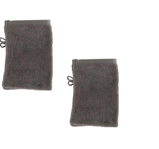 tex home lot de 4 gants taupe 15x21cm eponge bath pas cher achat vente gants de toilette. Black Bedroom Furniture Sets. Home Design Ideas