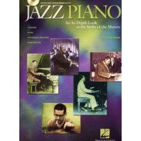 Hal Leonard - Méthodes Et Pédagogie Jazz Piano Styles Of The Masters Cd Piano Soldes