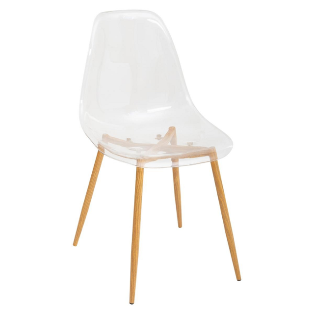 Chaise Taho transparent Atmosphera