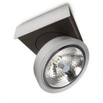 Lirio - Philips - Spot unique pivotable Bonq H10 cm - Aluminium