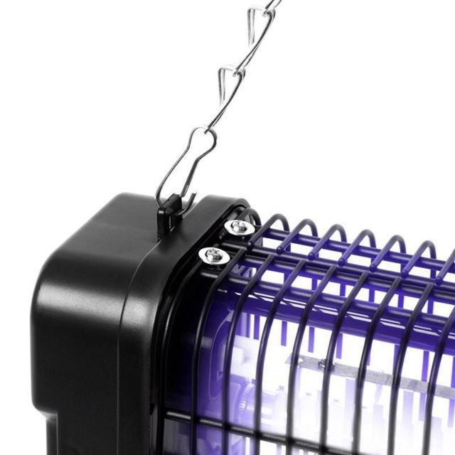 Fk8412 Destructeur piège d'insectes mouches moustiques avec 2 lampes ultraviolet de 6W auto portatif ou mural